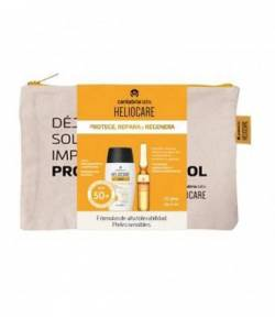 HELIOCARE Neceser Water Gel 360 + Ampollas Endocare Oil Free 10 uds