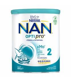 Nan Optipro 2 800gr NESTLE Continuación