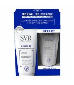 Xerial 50 Crema 50ml + Xerial 30 Crema 50ml Pack Tratamiento de Pies SVR Durezas