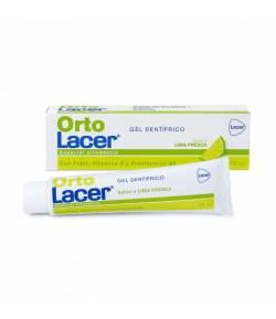 Gel Dentífrico ORTOLACER Lima Fresca 75ml Ortodoncia