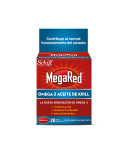 MEGARED Omega-3 Aceite de Krill 20cap Colesterol