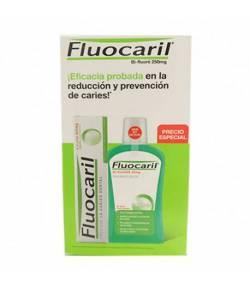 Pack Fluocaril Pasta Dentífrica Bifluoré 125ml + Colutorio 500ml