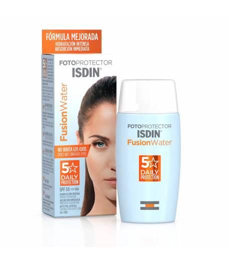 Fotoprotector Fusion Water +50 ISDIN 50ml Protección solar