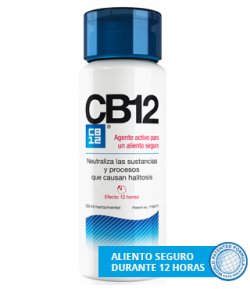 CB12 Enjuague Bucal 250ml Halitosis