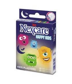 Tiritas Kids Monsters 3M 2 tamaños 20ud NEXCARE Apósitos