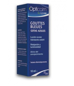 Gotas Azules OPTICALM 10ml Colirios