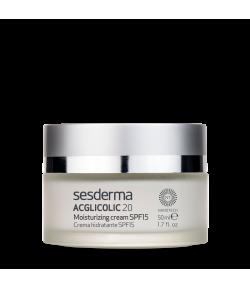 Acglicolic 20 Crema Hidratante SPF15 50ml SESDERMA Exfoliantes
