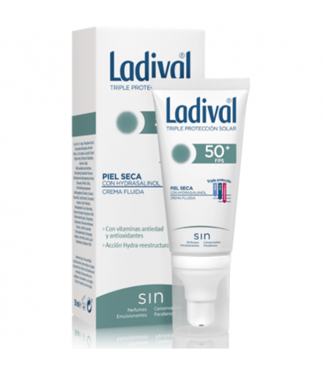 Protector Solar Facial Piel Seca SPF50+ 50ml LADIVAL Protección solar