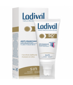 Protector Solar Facial Acción Antimanchas Toque Seco con Deléntigo SPF50+ 50ml LADIVAL Protección solar
