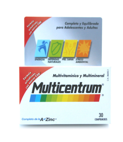 Multicentrum 30comp Energía