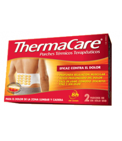 THERMACARE zona Lumbar y Cadera 4ud