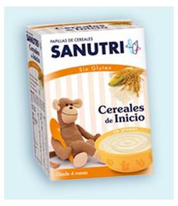 Cereales de Inicio SANUTRI 600gr