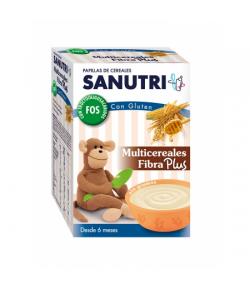 SANUTRI Multicereales Fibra Plus 600gr 8 Cereales
