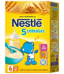 5 Cereales 600gr NESTLE