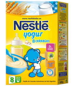 8 Cereales con Yogur 600gr NESTLE