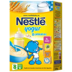 8 Cereales con Yogur 600gr NESTLE