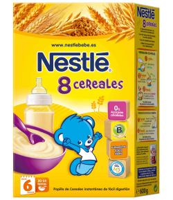 8 Cereales 600gr NESTLE 8 Cereales