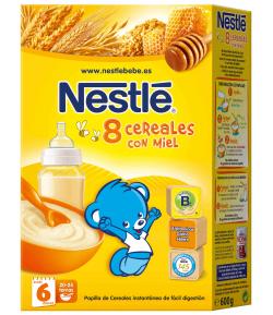 8 Cereales con Miel 600gr NESTLE 8 Cereales