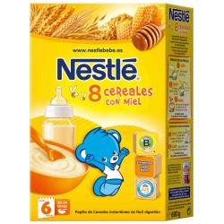 8 Cereales con Miel 600gr NESTLE