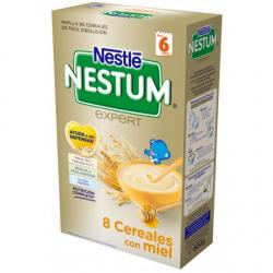 Papilla Nestum 8 Cereales con Miel 600gr NESTLE