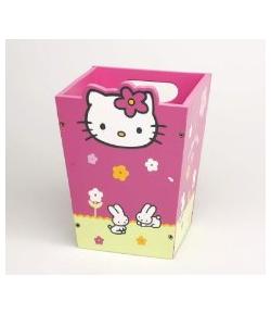 Papelera Madera Hello Kitty Juguetes
