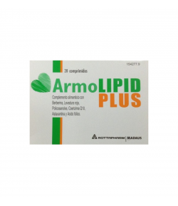 Armolipid Plus 20comp Colesterol