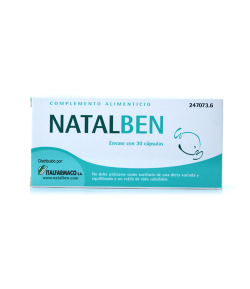 NATALBEN 30caps Vitaminas