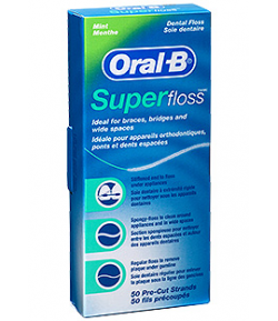 Hilo Dental Suplefloss 50ud ORAL-B Seda Dental