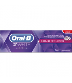 Pasta Dentífrica 3D White Brillo Seductor 75ml ORAL-B