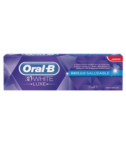 Pasta Dentífrica 3D White Brillo Saludable 75ml ORAL-B Blanqueamiento