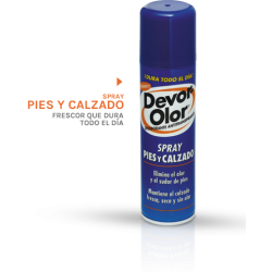 Spray Pies y Calzado 150ml DEVOR-OLOR
