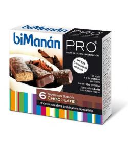 Barritas Chocolate BIMANAN PRO 6ud