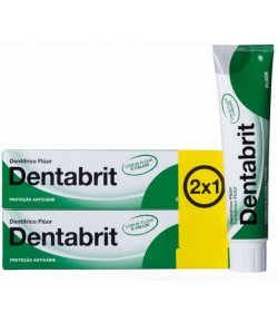 Pack 2x1 Dentífrico Flúor 125ml DENTABRIT