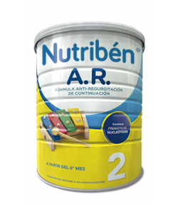 NUTRIBÉN A.R. 2 800gr Anti-Regurgitación