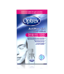 ActiMist Spray 2en1 para Ojos secos e Irritados OPTREX