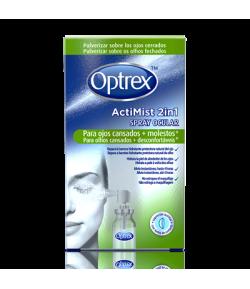 ActiMist Spray 2en1 para Ojos Cansados y Molestos OPTREX Colirios