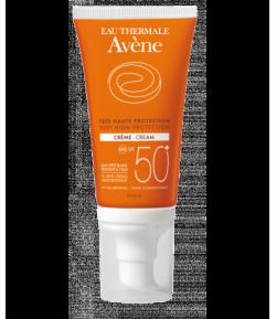 Crema SPF 50+ AVÈNE 50ml Protección solar