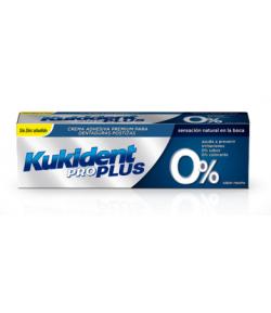 KUKIDENT Pro Plus 0% 40gr Fijación