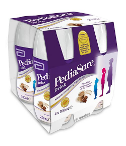 Batido Chocolate PEDIASURE 4x200ml Vitaminas