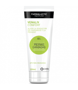 Gel Piernas Cansadas VENALIV CONFORT 250ml FARMALASTIC