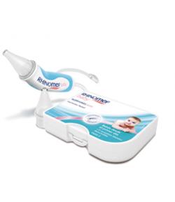 Aspirador Nasal + 2 Recambios RHINOMER Baby Suero Fisiológico