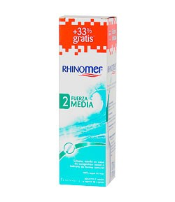 RHINOMER Fuerza 2 Media 135ml+45ml Suero Fisiológico