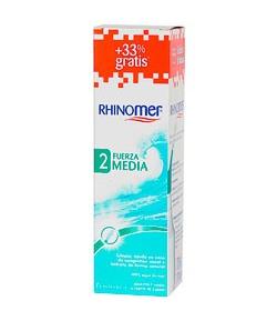RHINOMER Fuerza 2 Media 135ml+45ml Suero Fisiológico