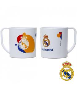 Taza de Plástico con Asa Real Madrid FC