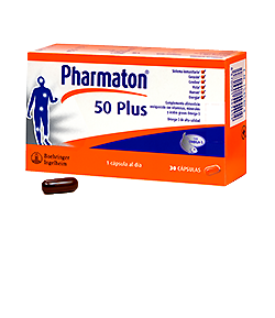 Pharmaton 50 Plus 30 caps Antiedad