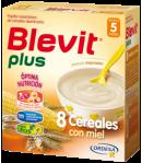 Blevit Plus 8 Cereales con Miel 300gr 8 Cereales