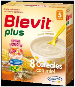 Blevit Plus 8 Cereales con Miel 600gr 8 Cereales