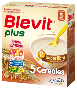 Blevit Plus Superfibra 5 Cereales 600gr