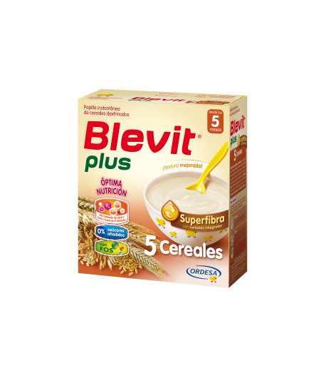 Blevit Plus Superfibra 5 Cereales 600gr 5 Cereales