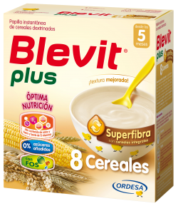 Blevit Plus Superfibra 8 Cereales 600gr 8 Cereales
